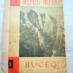 MSHAR - 15 - COLECTIA MUNTII NOSTRI - NR 1 - BUCEGI