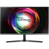 Monitor LED Samsung Gaming U28H750UQUXEN Quantum Dot 28 inch 4K 1 ms Silver FreeSync