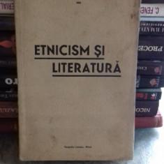 ETNICISM SI LITERATURA - GH. TOMESCU