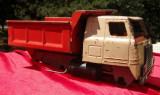 Jucarie din tabla URSS Rusia Kamaz camion basculanta