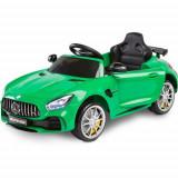 Masinuta Electrica Mercedes AMG GTR 2x6V Green, Toyz