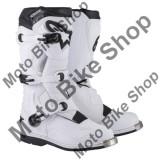 MBS Cizme motocross Alpinestars Tech 1, albe, 11=45.5, Cod Produs: 34101436PE
