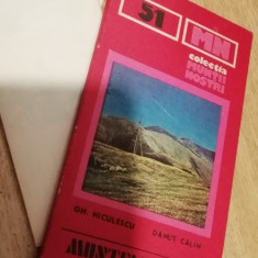 MSHAR - 34 - COLECTIA MUNTII NOSTRI - NR 51 - MUNTELE MIC - TARCU - 1990