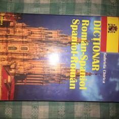 Dictionar roman-spaniol spaniol-roman Gabriela Chirica