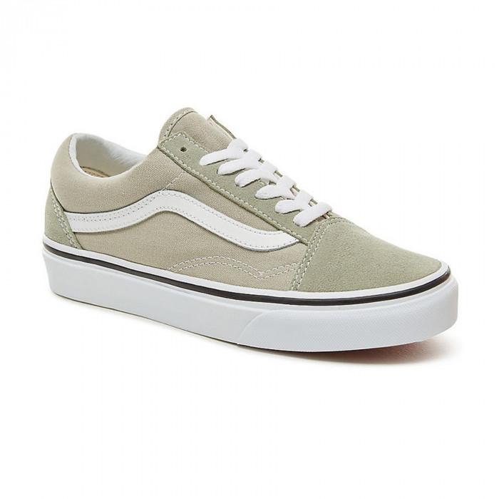 Shoes Vans Old Skool desert sage/true white
