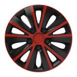 Set capace roti 13 inch Versaco Rapide, Rosu si Negru, R 13, AutoMax Polonia