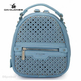Geanta dama originala David Jones - Rucsac David Jones (Bleu si Negru)