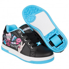 Heelys Split Black/Aqua/Peace Patch