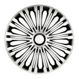 Set capace roti 17 inch Argo Volante, Argintiu si Negru, R 17, AutoMax Polonia