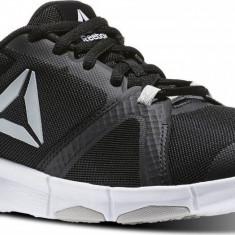 40,42_adidasi originali barbati Reebok_textil_negru_talpa spuma