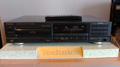 CD Player Technics SL-PG400A cu telecomanda, vumetru, laser in camp magnetic foto