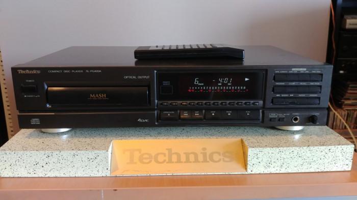 CD Player Technics SL-PG400A cu telecomanda, vumetru, laser in camp magnetic