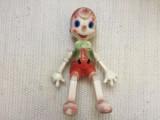 Jucarie plastic pinochio pinocchio buratino veche urss rusia comunista rar hobby