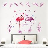 Sticker decorativ Flamingo