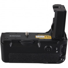 1 PATONA | Grip cu telecomanda tip VG-C3EM Sony Alpha A7RIII A7MIII A9 NP-FZ100