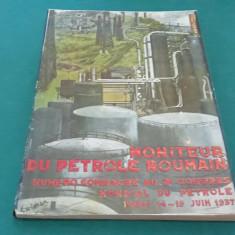 MONITEUR DU PETROLE ROUMAIN NUMERO CONSACRE AU 2 CONGRES MONDIAL DU PETROLE 1937