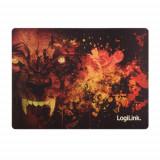 Mousepad Logilink ID0141 Ultra thin Glimmer Wolf design
