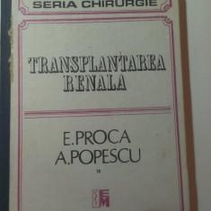 TRANSPLANTAREA  RENALA
