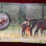 """MEDALIE ARGINT-Caii de la Letea""""- """"Flora și fauna României- 25 BUCATI TIRAJ !"""