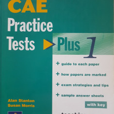 CAE PRACTICE TESTS WITH KEY - Plus 1 - Stanton, Morris