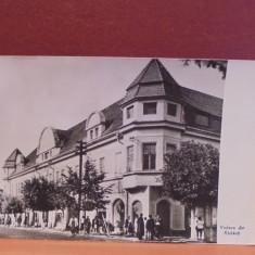 R.P.R. - RADAUTI - VEDERE DIN ORAS - CIRCULATA, TIMBRATA., Fotografie
