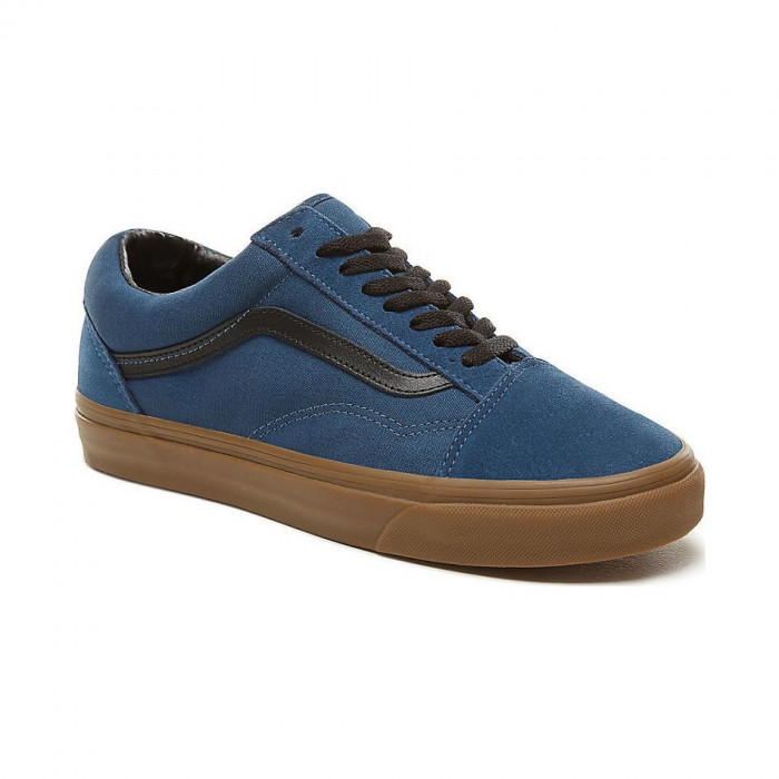 Shoes Vans Old Skool (Gum Outsole) dark denim/black