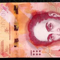 Venezuela 20000 20.000 Bolivares 18 august 2016 prima editie UNC necirculata  **