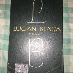 Poezii Lucian Blaga