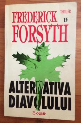 ALTERNATIVA DIAVOLULUI-FREDERICK FORSYTH foto