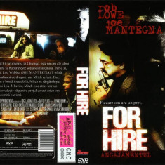 Angajamentul - For Hire, DVD, Romana
