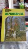 ALMANAHUL VANATORULUI SI PESCARULUI SPORTIV 1983