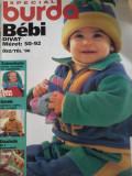 Revista Special Burda Bebi 1996 in lb. maghiara cu tipare intacte.