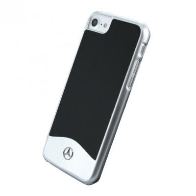 Husa Premium originala Mercedes Benz Wave I Metallic pentru Apple iPhone 7, Black foto