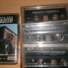 LOT CASETE AUDIO HIP HOP PARAZITII