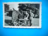 HOPCT 190 Z CU ALIATII RUSI-WW 2-FOTOGRAFIE VECHE MILITAR ROMAN-D=APROX 90/60 MM