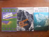 Lot 3 carti despre alpinism si drumetie / R8P1F