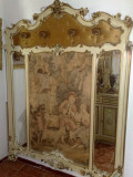 Cuier antic,stil baroc venetian,tapiserie,mobila veche/mobilier de arta, Accesorii mobilier, 1900 - 1949