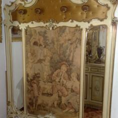 cuier antic,stil baroc venetian,tapiserie,mobila veche/mobilier de arta