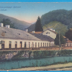 CARTE POSTALA - NADRAG, JUD. TIMIS - PERIOADA AUSTROUNGARA, DIREKTIONSGEBAUDE, Necirculata, Printata