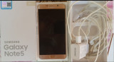 Samsung Galaxy Note 5, 32GB, Auriu, Neblocat