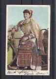 PORTUL  NATIONAL ROMAN  CLASICA   CIRCULATA  1904 UPU EDITURA FORTUNA BUCURESTI, Printata