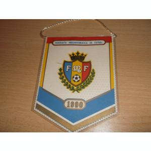 FEDERATIA MOLDOVENEASCA DE FOTBAL FMF 1990 FANION