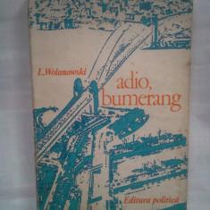 (C382) L. WOLANOWSKI - ADIO, BUMERANG