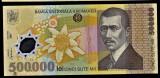 3) Bancnota 500000 ( 500.000 ) Lei 2000 Ghizari polimer VF+