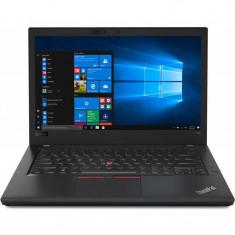 Laptop Lenovo ThinkPad T480 14 inch FHD Intel Core i5-8250U 16GB DDR4 256GB SSD FPR Windows 10 Pro Black, 16 GB