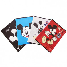 Caiet A4 80 file linii Pigna Premium Mickey Mouse