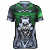 Under Armour Mens Alter Ego Transformers Crosshairs Compression, XL, Maneca scurta