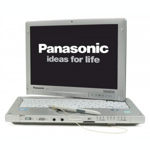Panasonic Toughbook Touch CF-C1 Intel I5 4GB Baterie >5H HDD/SSD
