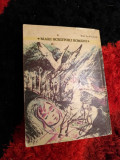 Mihail Sadoveanu - mari scriitori romani Povestiri Rh
