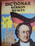 DICTIONAR GERMAN - ROMAN , 60000 DE CUVINTE DE MIHAI ISBASESCU